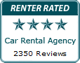 Car Rental Agency Renter Rated